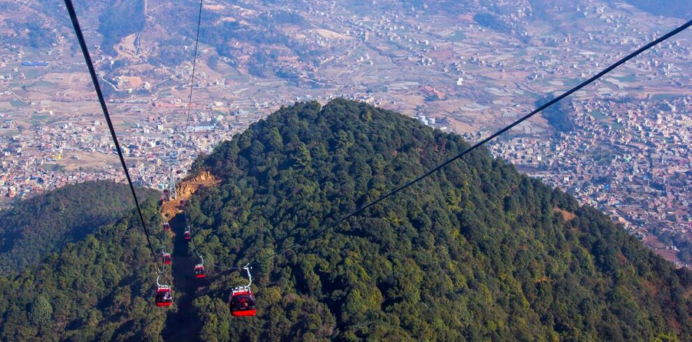 Chandragiri hills cable car